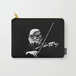 Dark Violinist Warrior Carry-All Pouch