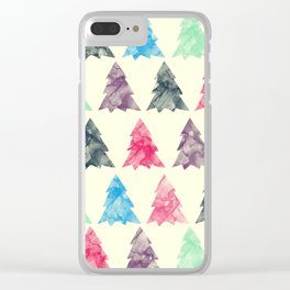 Lovely Pattern Clear iPhone Case