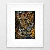 jaguar Framed Art Prints featuring Jaguar by WonderfulDreamPicture