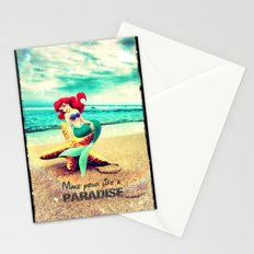 Make your life a paradise - for iphone Stationery Cards