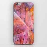 Leaf Rubbing iPhone & iPod Skin