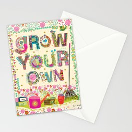 Grow Your Own Stationery Cards