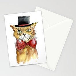 mr. cat Stationery Cards