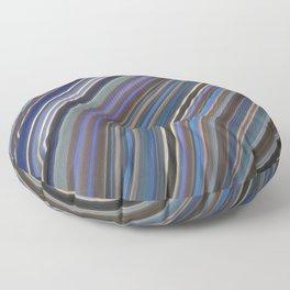 Mild Wavy Lines IV Floor Pillow