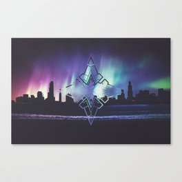 Colour the Stars Canvas Print