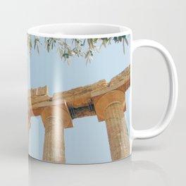 The Ancient Agrigento Temple Coffee Mug