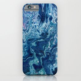Blueberry Ripple iPhone Case