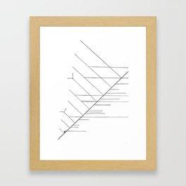Clade1 Framed Art Print