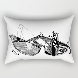 Dance with me - Emilie Record Rectangular Pillow