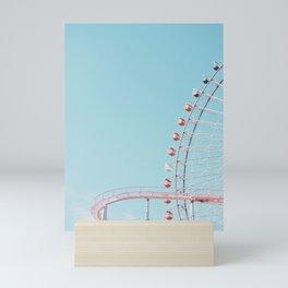 Pastel funfair Mini Art Print