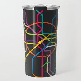 moscow metro map Travel Mug