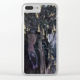 Honey Dreaming Clear iPhone Case