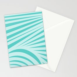 Abstract Ocean Sunrise Stationery Cards