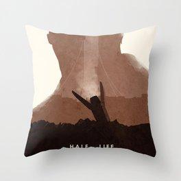 Half Life (II) Throw Pillow