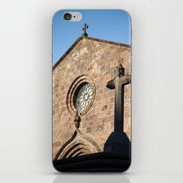 Church in Azores islands iPhone Skin