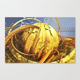 Gold Squash Canvas Print