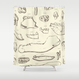 Paleo Dentistry Shower Curtain