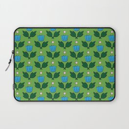 Minimal Floral Pattern Laptop Sleeve
