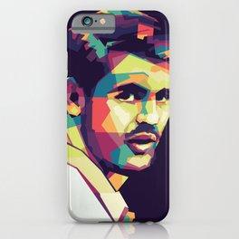 Alvaro Morata on WPAP Pop Art Portrait iPhone Case