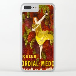 Vintage poster - Liqueur Cordial-Medoc Clear iPhone Case