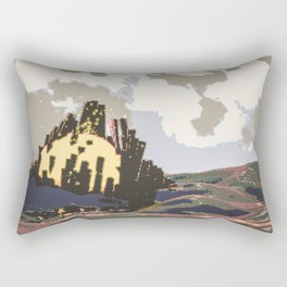 taproom spacers Rectangular Pillow