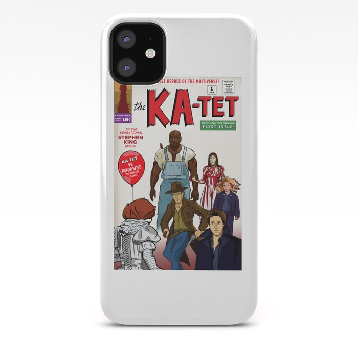 The Ka-Tet comic book cover iPhone Case by chrisayerscreative