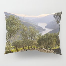 A rustic track in the Douro Pillow Sham