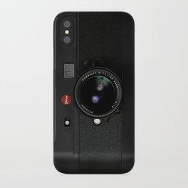 Vintage Black Camera iPhone Case