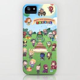 M A R V E L B-Day iPhone Case