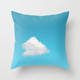 Happy Cloud Throw Pillow