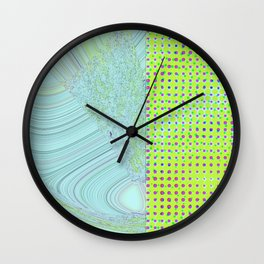 DIS-TORT Wall Clock