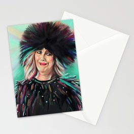 Moira Rose - Schitt's Creek - Catherine O'Hara - Bebe - Artwork Stationery Cards