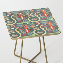 Rain forest animals 003 Side Table