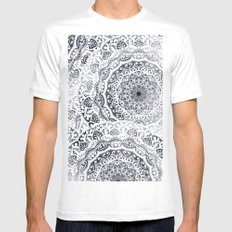 BOHOGIRL MANDALAS MEDIUM Mens Fitted Tee White