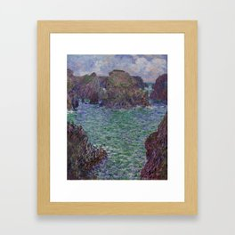 Port-Goulphar, Belle-Île Framed Art Print