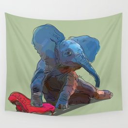 animals in chairs #25 The Elephant Wall Tapestry