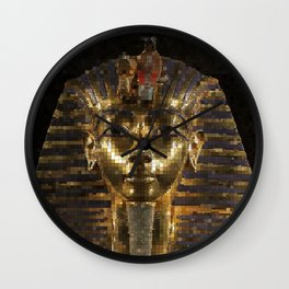 KingTut20150901 Wall Clock
