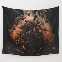 Arising after a fall Wall Tapestry