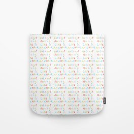 without music life is an error Tote Bag