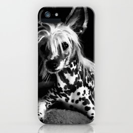 CHINESE CRESTED iPhone Case