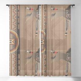 War Horse Sheer Curtain