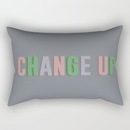Change up - Pastel Rectangular Pillow