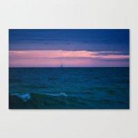 sail Canvas Prints featuring Sail by LindaMarieAnson