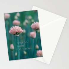 Blue Field Stationery Cards
