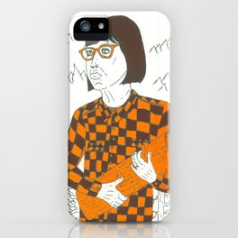 TWIN PEAKS: LOG LADY iPhone Case