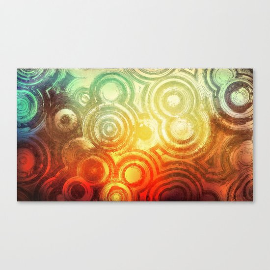 Cluster City Canvas Print