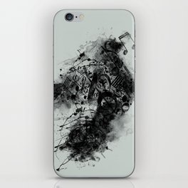 THE LONELY BIRD SONG iPhone Skin