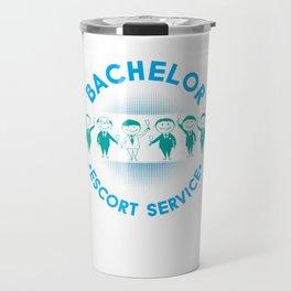 Marriage Bachelor Party Stag Night Bridegroom Groom Bachelor Escort Service Gift Travel Mug