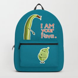 I AM your Fava. (Fathers Day Funny) Backpack