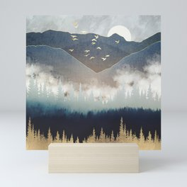 Blue Mountain Mist Mini Art Print